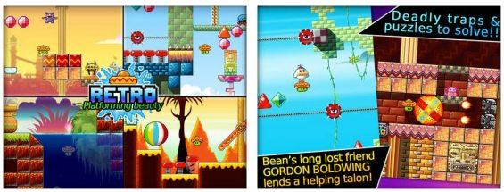 Bean's Quest ist genau so, wie ein Platformer sein sollte: Kurzweilig und leicht zu bedienen.